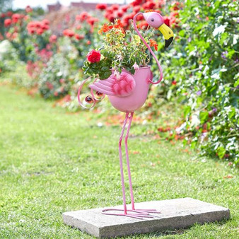 Flamingo Planter (5030375)