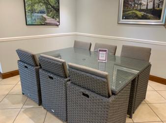 Alexander Rose Grand 6 Seat Cube Set GREY (7230GR)