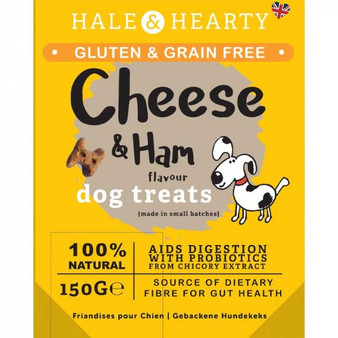Zoon Cheese and Ham Grain and Gluten Free Dog Treats 150g