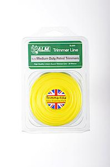 ALM Trimmer Line (20m x 2.4mm) Yellow