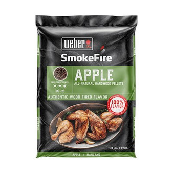 Smoke Fire Wood Pellets Apple (190104)