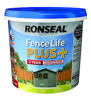 Ronseal Fence Life Plus - Charcoal Grey - 5L