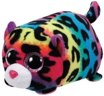 TY Teeny - Jelly Multi Colour Leopard