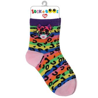 TY Dotty Leopard Socks