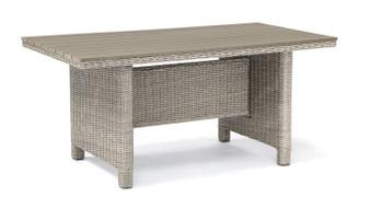 Kettler Palma Polywood Table - White Wash
