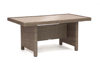 Kettler Palma Glass Top Table - Rattan