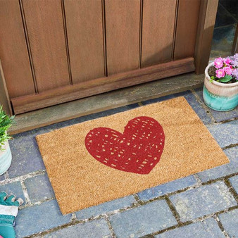 Heart Decoir Mat