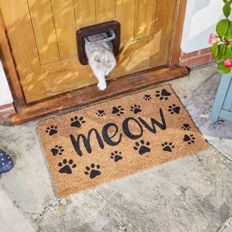 Meow Decoir Mat