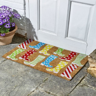 Wacky Wellies Decoir Mat