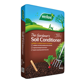 The Gardeners Soil Conditioner 50L (2 for £10)