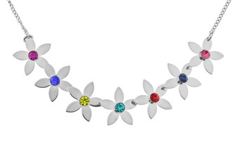 IR Plated Flower Bracelet