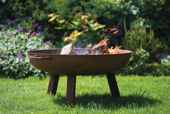 Woodlodge Glasto Firepit with legs 100cm