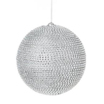 Silver Diamanté Ball 120mm