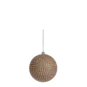 Gold diamanté ball 100mm