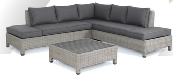 Kettler Palma Low Lounge Whitewash