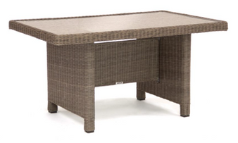 Kettler Palma Mini Glass Table Rattan