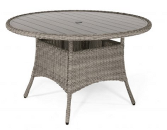 Kettler Palma 4 Seat Round Dining Table Rattan DUE EARLY SUMMER