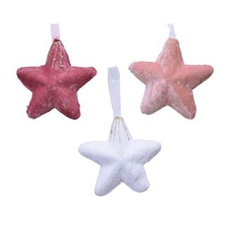Star Hanging Decoration (Pink Forest)