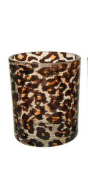 Leopard Print Tealight Holder