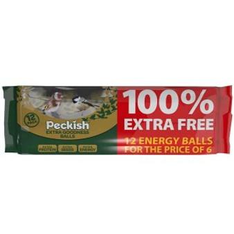 Peckish Extra Goodness Energy Balls 6+6