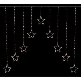 Pin Wire Star Lights 1.2x1.2M
