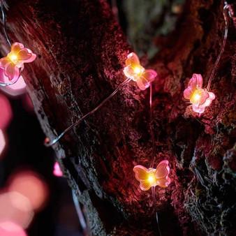 30 Butterfly Firefly Solar Strings