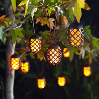 10 Cool Flame Solar String Lights