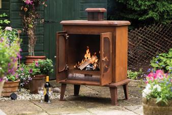 Woodlodge Premium Rust Fireplace