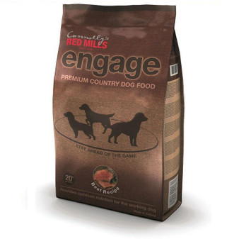RED MILLS ENGAGE BEEF DOG FOOD 3KG