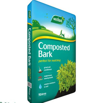 Composted Bark 70L (2 For £14)