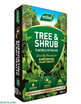 Tree & Shrub Planting & Potting Mix  60L