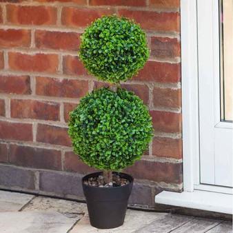 Duo Topiary Tree 60cm