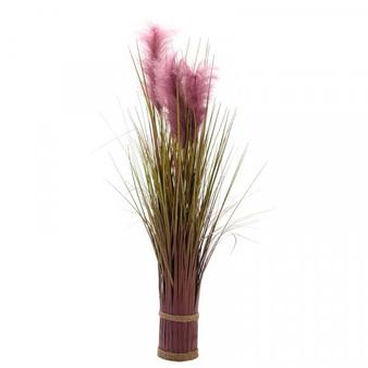 Faux Bouquet - Purple Pampas, 70cm