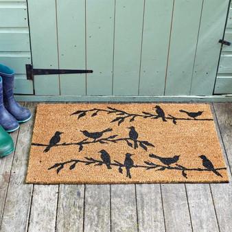 Bird Song Doormat 45x75cm
