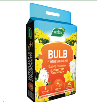 Westland Bulb Planting & Potting Mix has been specially blended to support with the growth of dry, healthy bulbs.