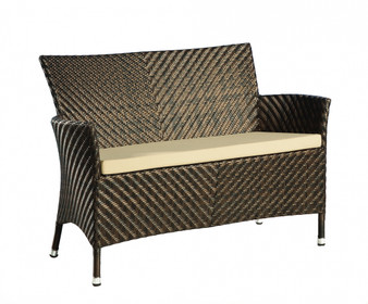 Ocean Wave Bench 4ft with Cushion