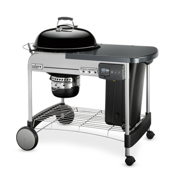 Weber Performer Deluxe Charcoal Barbecue GBS 57cm Black