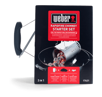 Weber Rapidfire Chimney Starter Set (17631)