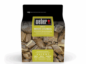 Weber® Apple Wood Chunks - 1.5kg