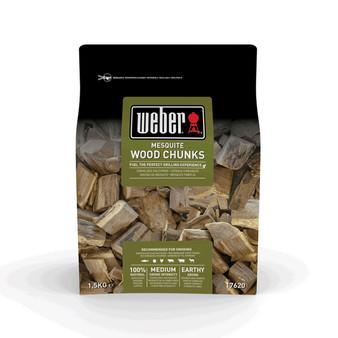 Weber® Mesquite Wood Chunks - 1.5kg