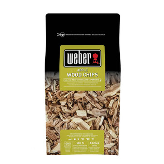 Weber® Apple Wood Chips 0.7kg