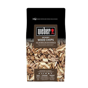 Weber® Hickory Wood Chips - 0.7kg