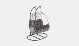 Kettler Palma Double Cocoon - White Wash