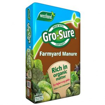 Gro-Sure Manure 50L   (2 For £10!)