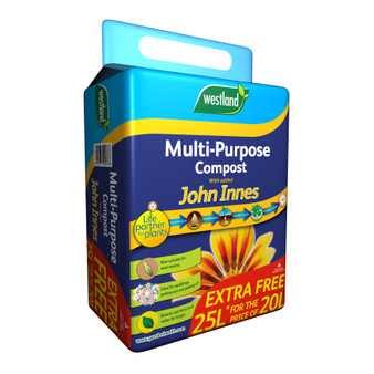 Multi Purpose with added John Innes 25L (3 FOR £12)