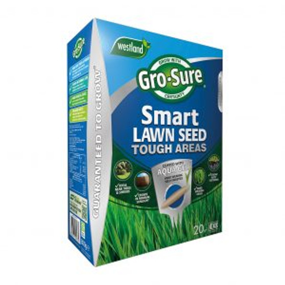 Gro-Sure Smart Lawn Seed Tough Areas 20m2
