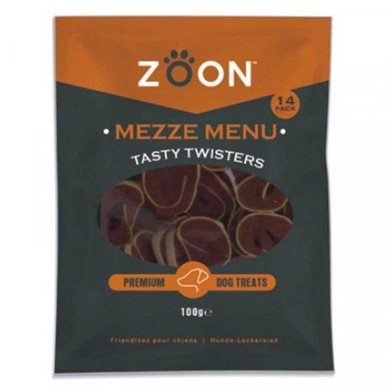 Zoon Mezze Menu Tasty Twisters 140g