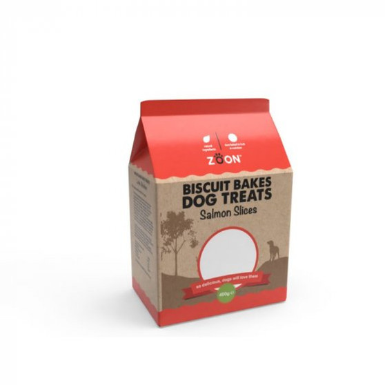 Zoon Biscuit Bakes Salmon Slices 400g