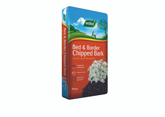 Bed & Border Chipped Bark 70L (2 FOR £14)