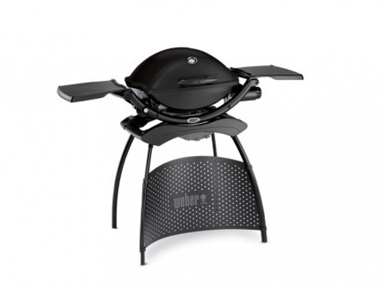 Weber® Q®2200 Blackline with stand